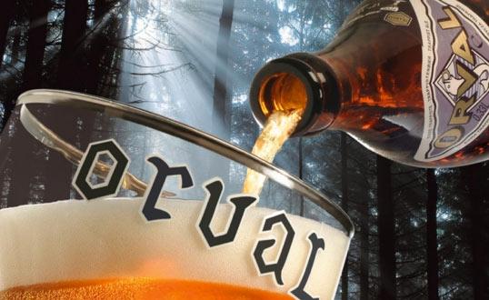 cerveza tipo abadía marca orval